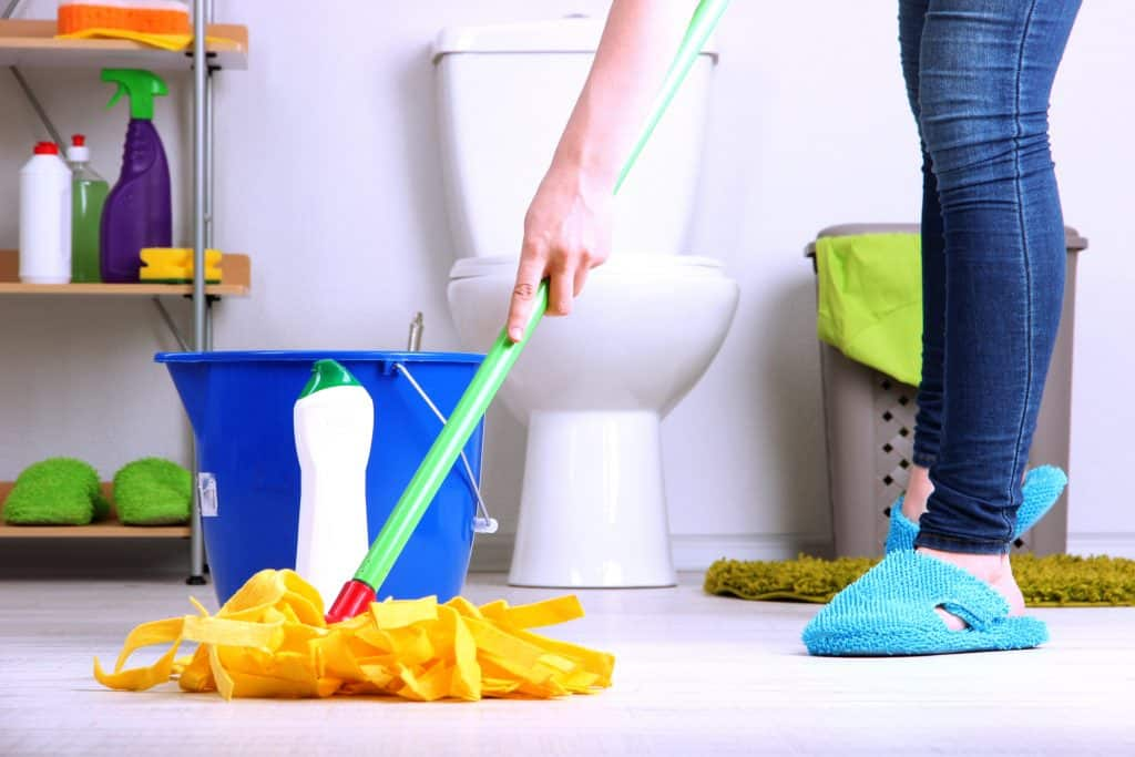 diy restroom cleaning