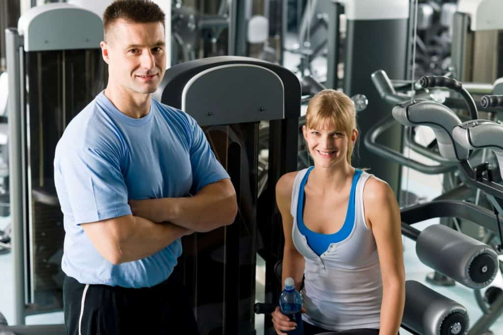 fitness center cleaning