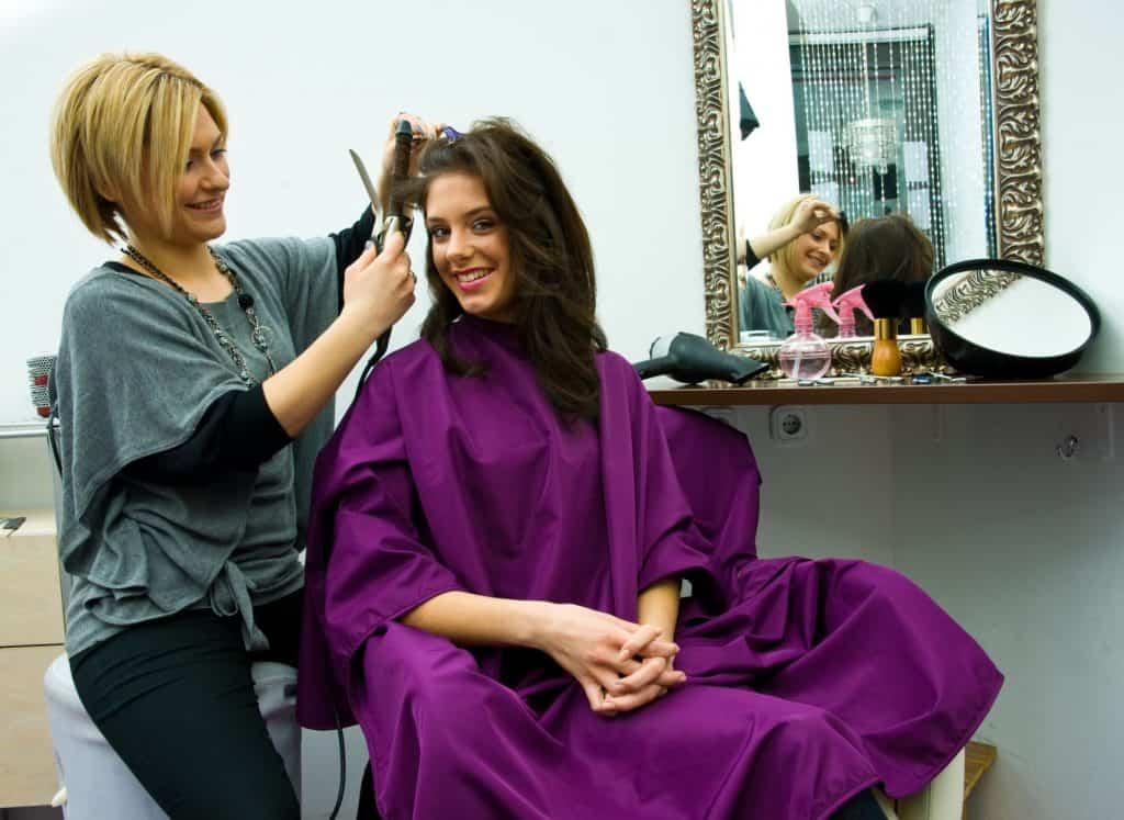 beauty salon cleaning