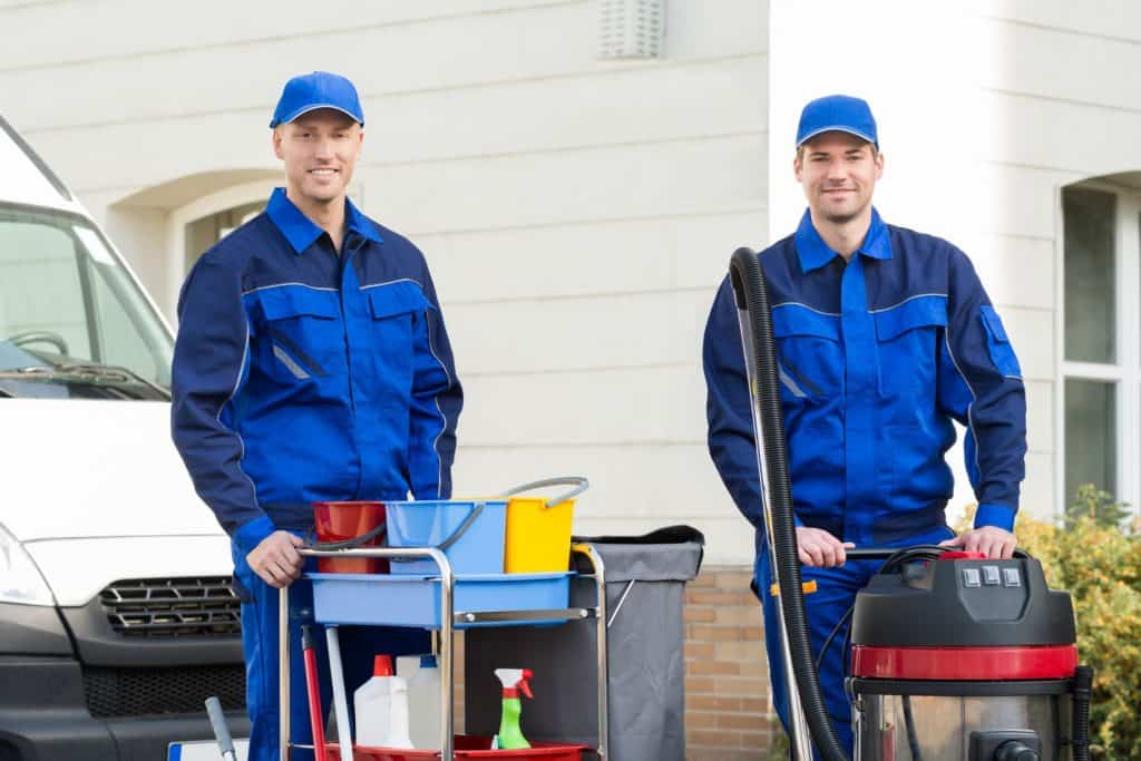 hiring commercial cleaners